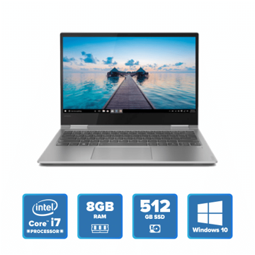 Lenovo Yoga 730 Convertible - i7 Win 10 8GB 512GB SSD (Platinum) price in india features reviews specs