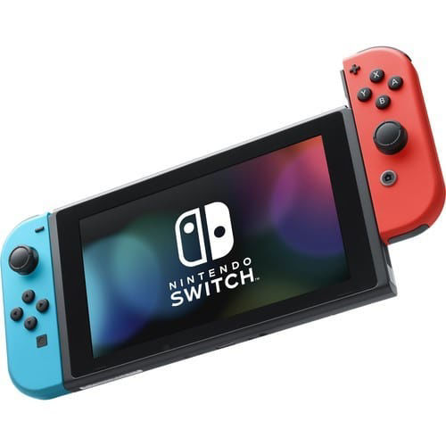Nintendo Switch with Neon Blue and Red Controllers price in india features reviews specs
