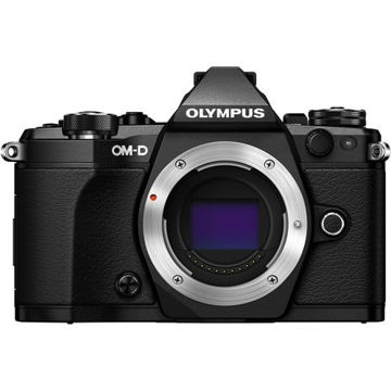 Olympus OM-D E-M5 Mark II Mirrorless Micro Four Thirds Digital Camera (Body, Black) price in india features reviews specs