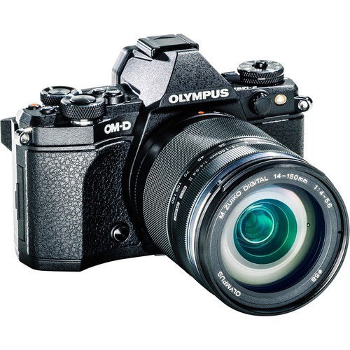 Olympus OM-D E-M5 Mark II Mirrorless Micro Four Thirds Digital Camera with 14-150mm f/4-5.6 Lens Kit (Black) price in india features reviews specs