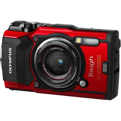 Olympus Tough TG-5 Digital Camera (Red) price in india features reviews specs