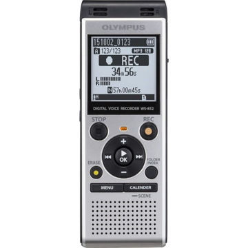 Olympus WS-852 Digital Voice Recorder (Silver) price in india features reviews specs