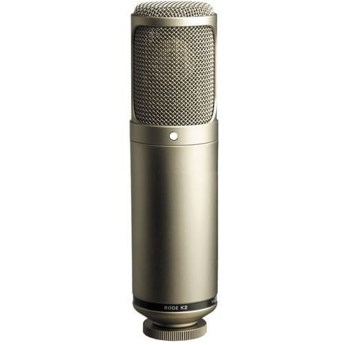 buy Rode K2 - Variable Pattern Studio Tube Condenser Microphone in India imastudent.com