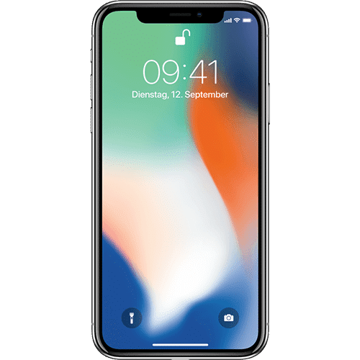 Apple iPhone X 64GB - Silver price in india features reviews specs
