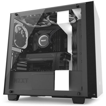 NZXT H400i CPU Cabinet - CA-H400W-WB (White) price in india features reviews specs
