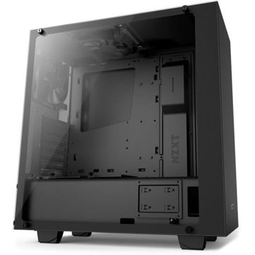 NZXT S340 CPU Cabinet - CA-S340W-B3 (Matte Black) price in india features reviews specs