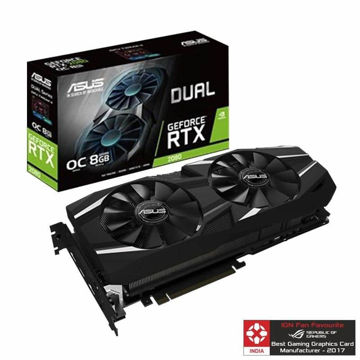 Asus GeForce RTX 2080 DUAL OC 8GB Gaming Graphic Card price in india features reviews specs