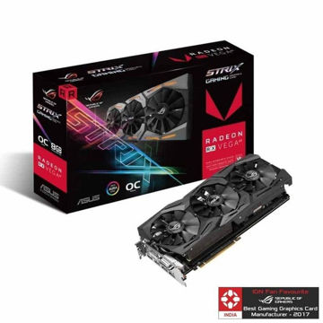 Asus RX VEGA 64 ROG STRIX 8GB GAMING OC Graphic Card price in india features reviews specs