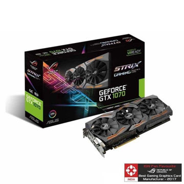 Asus GTX 1070 ROG STRIX 8GB GAMING OC Graphic Card price in india features reviews specs