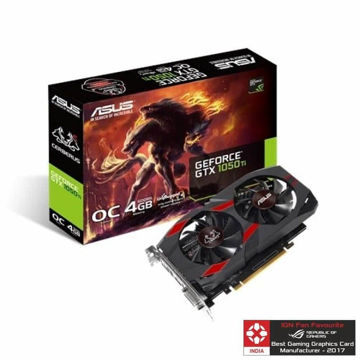 Asus Pascal Series GTX 1050 TI Cerberus OC 4GB Graphic Card price in india features reviews specs