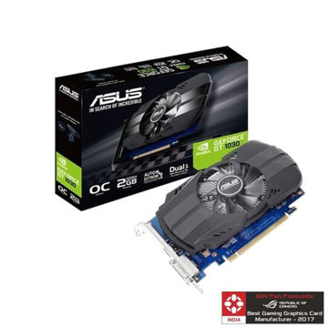 Asus Pascal Series GT 1030 Phoenix OC 2GB Graphic Card price in india features reviews specs