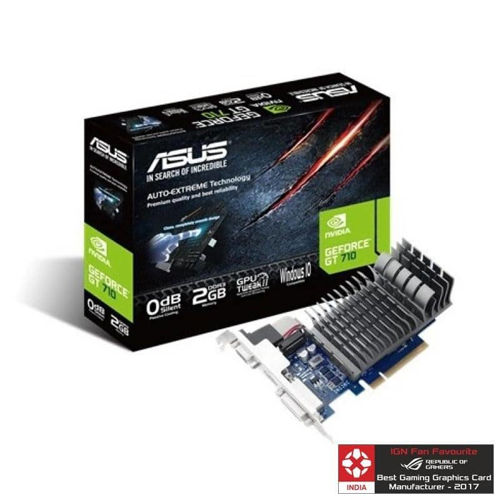 Asus GT 710 2GB Graphic Card price in india features reviews specs