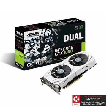 Asus Pascal Series GTX 1060 Dual OC 6GB Graphic Card price in india features reviews specs