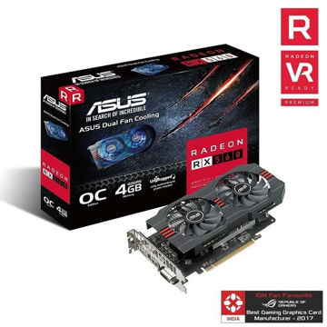 Asus RX 560 4GB Graphic Card price in india features reviews specs