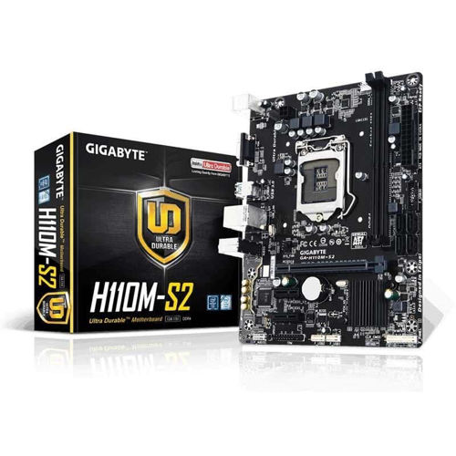 Gigabyte GA H110M S2 Motherboard price in india features reviews specs