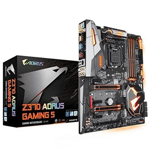 Gigabyte Z370 AORUS GAMING 5 Motherboard price in india features reviews specs