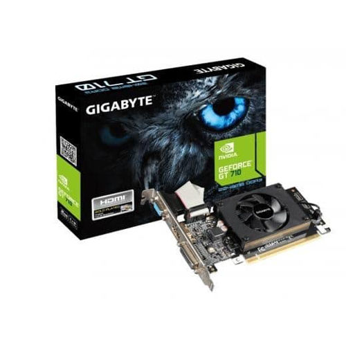 Gigabyte GT 710 2GB Graphics Card price in india features reviews specs