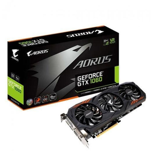 Gigabyte Pascal Series AORUS GTX 1060 OC 6GB Graphics Card price in india features reviews specs