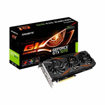 Gigabyte Pascal Series GTX 1070 G1 Gaming OC 8GB Graphic Card price in india features reviews specs
