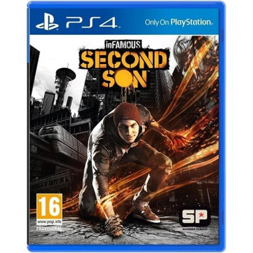 SONY PS4 GAMES - INFAMOUS : SECOND SON price in india features reviews specs