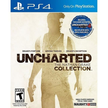 SONY PS4 GAMES - UNCHARTED THE NATHAN DRAKE COLLECTION price in india features reviews specs