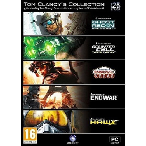 UBISOFT PC GAMES - TOM CLANCY COLLECTION : 5 GAMES price in india features reviews specs