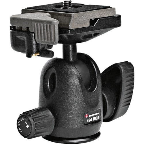 buy Manfrotto 494RC2 Mini Ball Head with 200PL-14 Quick Release Plate in India imastudent.com