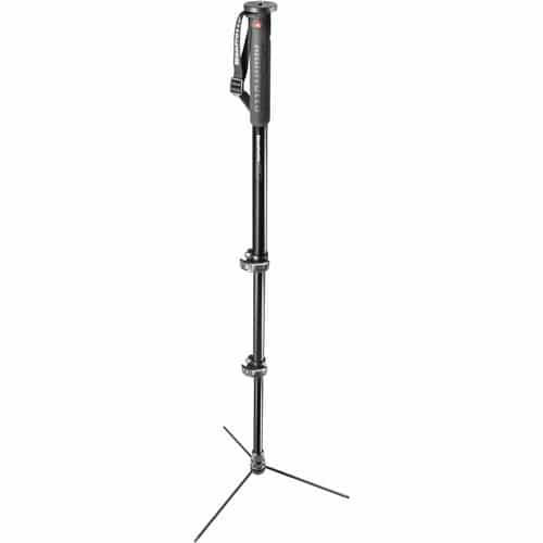 buy Manfrotto XPRO Prime Base 3-Section Aluminum Monopod in India imastudent.com