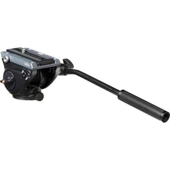 buy Manfrotto MVH500AH Fluid Video Head with Flat Base in India imastudent.com
