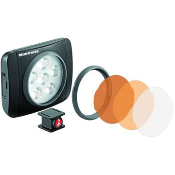 buy Manfrotto Lumimuse 6 On-Camera LED Light (Black) in India imastudent.com