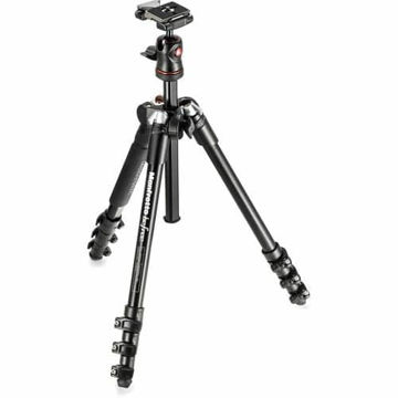 buy Manfrotto BeFree Compact Travel Aluminum Alloy Tripod (Black) in India imastudent.com