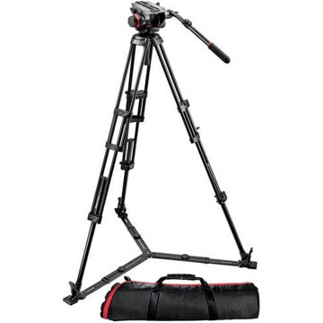 buy Manfrotto 504HD Head w/546GB 2-Stage Aluminum Tripod System in India imastudent.com