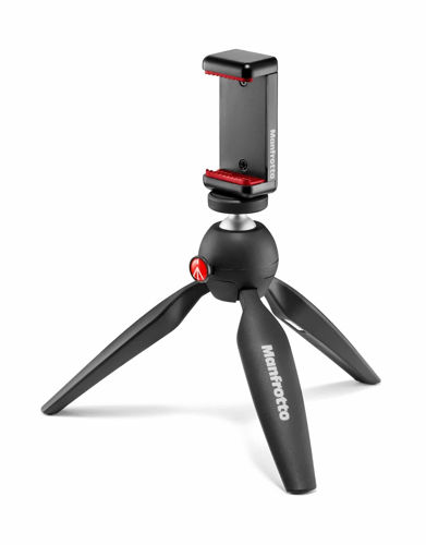 Manfrotto Mini Tripod with Universal Smartphone Clamp price in india features reviews specs