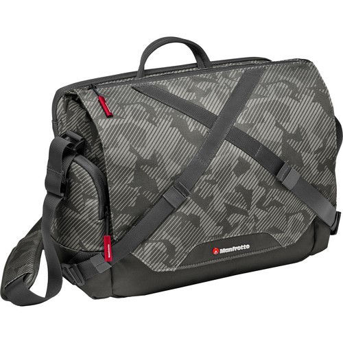 Manfrotto Noreg Camera Messenger-30 (Gray) price in india features reviews specs