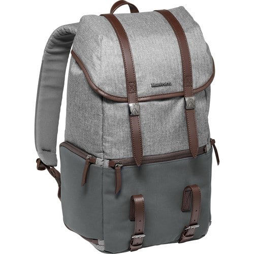 Manfrotto Windsor Camera and Laptop Backpack for DSLR (Gray) price in india features reviews specs