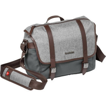 Manfrotto Windsor Camera Messenger Bag (Small, Gray) price in india features reviews specs