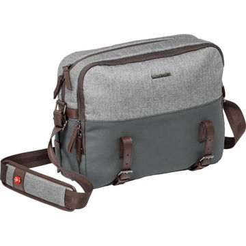 Manfrotto Windsor Camera Reporter Bag for DSLR (Gray) price in india features reviews specs