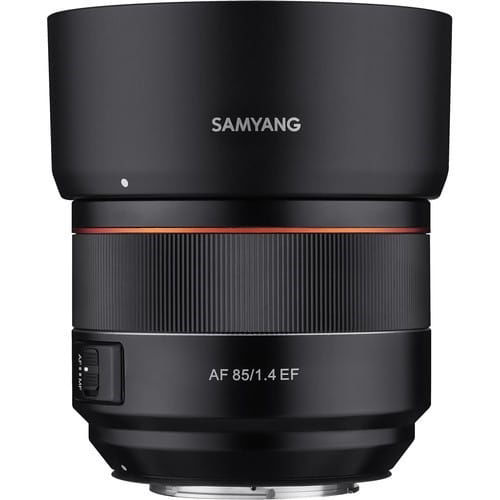 buy Samyang AF 85mm f/1.4 EF Lens for Canon EF in India imastudent.com