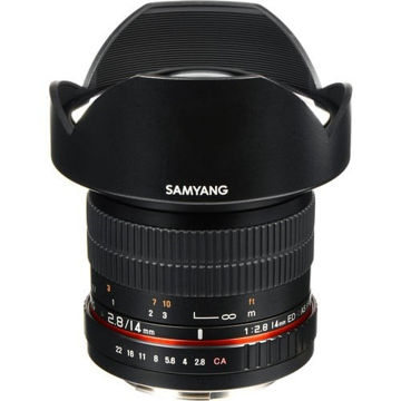 buy Samyang 14mm Ultra Wide-Angle f/2.8 IF ED UMC Lens for Canon EF Mount in India imastudent.com