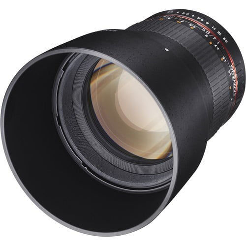 buy Samyang 85mm f/1.4 Aspherical Lens for Canon in India imastudent.com