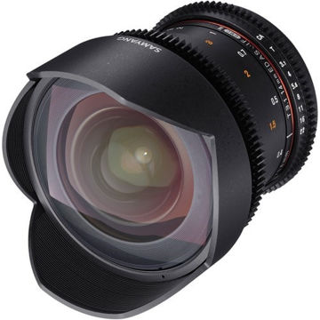 buy Samyang 14mm T3.1 VDSLRII Cine Lens for Canon EF Mount in India imastudent.com