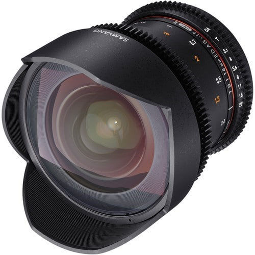 buy Samyang 14mm T3.1 VDSLRII Cine Lens for Nikon F Mount in India imastudent.com