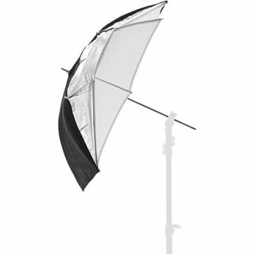Lastolite LL LU3223F Dual Umbrella (Black/Silver/White) price in india features reviews specs