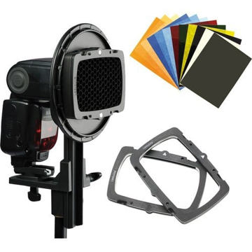 Lastolite Strobo Ezybox Hotshoe Mount Pro Kit price in india features reviews specs