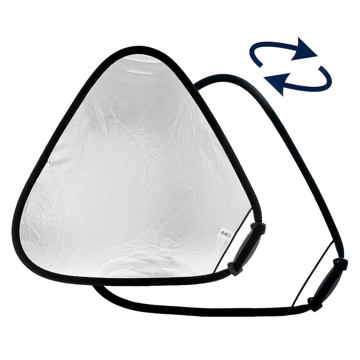 Lastolite Trigrip Reflector 75cm Silver/White price in india features reviews specs