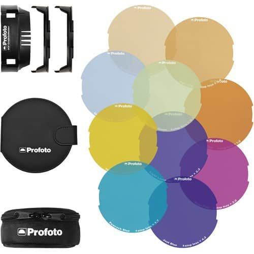 Profoto Color Gel Starter Kit for B2 OCF Flash Head price in india features reviews specs