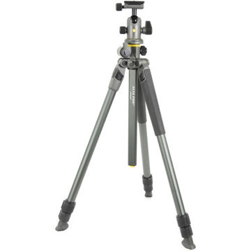 Vanguard Alta Pro 2+ 263AB100 Aluminum-Alloy Tripod Kit with Alta BH-100 Ball Head price in india features reviews specs