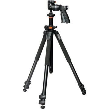 Vanguard Alta Pro 263AGH Aluminum-Alloy Tripod Kit with GH-100 Pistol Grip Ball Head price in india features reviews specs
