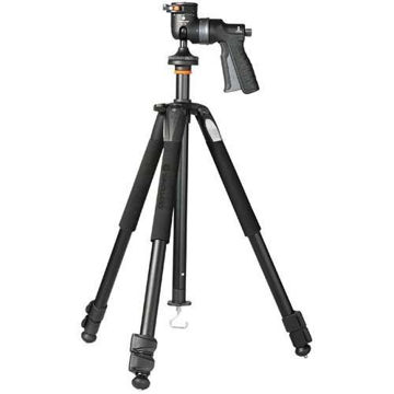 Vanguard Alta+ 263AGH Aluminum Tripod W/Pistol-Grip Ballhead price in india features reviews specs