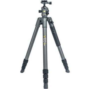 "Vanguard VEO 2 264AB Aluminum Tripod with Ball Head (Gray, 61"") price in india features reviews specs"